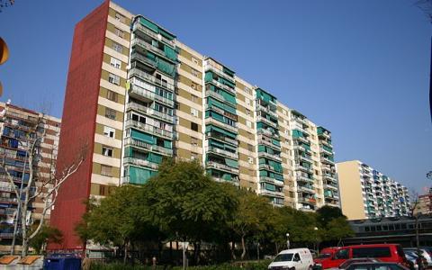 Edificio residencial en Hospitalet, Cataluña.