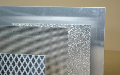 Imagen de acabados de chapa de aluminio