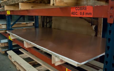 Image Copper sheet