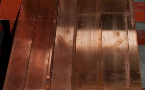 Image Méplat en cuivre