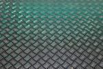 Imagen de chapa de aluminio en damero